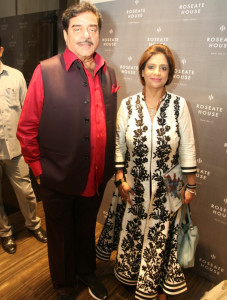 Neera Sareen with Shatrughan Sinha at launch of Womwn On Top Their Game