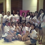 Grooming in Spiritual Wellness to Contestants of Miss India North 2014 -Beauty Pageant by Neera Sareen