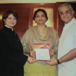 Certificate of appreciation in the field of Pyra Vaastu by its founder Prof Jiten Bhatt