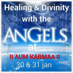 "ANGEL CARD READING AND HEALING AT ""AUM KARMA"""