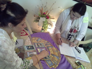 Angel Card Reading Practice Session
