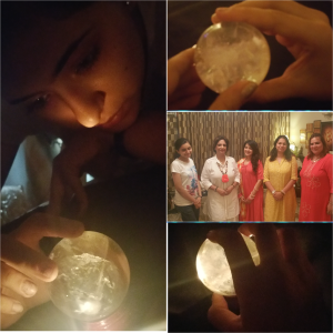 Crystal Ball Gazing Course at Aum Karma at New Delhi