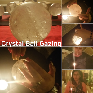 Crystal Ball Gazing practice in progress during the course on Crystal Ball Gazing at New Delhi