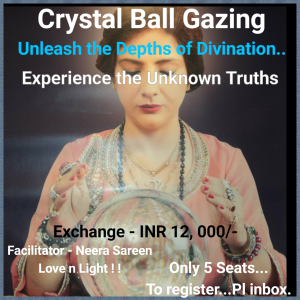 Crystal Ball Gazing by Neera Sareen at New Delhi