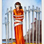 Eight of Swords Card (PAST)