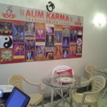 Main Hall of Karmic Centre where Couses on Tarot Reading, Numerology etc , Meditations, Workshops, Yoga etc are conducted