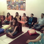 Detox Meditation in progress at Karmic Centre