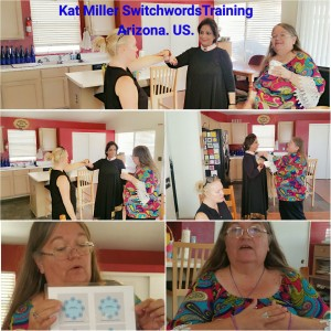 Neera Sareen attending Kat Miller Switchwords Training at Arizona. U.S.A.