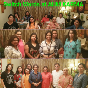 Switch Words, Energy Circles Courses , Workshops being conducted by Neera Sareen at her Centre Aum Karma in South Delhi and West Delhi at New Delhi